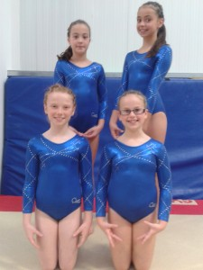 Mya, Alana, Nancy and Yasmin Regional Recreational Apparatus Qualifier 2014